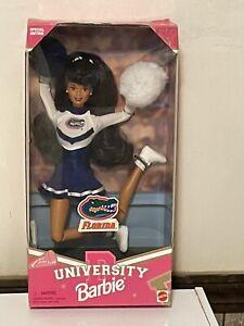 University Florida Barbie Doll Brunette Special Edition 1996 Florida Gators