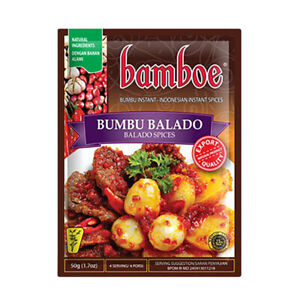 10x [BUMBU BAMBOE] Indonesia Instant Red...