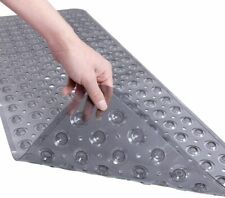Extra Long Bathtub Mat with Strong Suckers Non Slip Bath Mat and Shower Mat