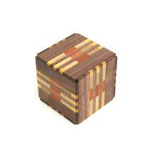 18 Step Japanese Puzzle Box Secret Yosegi Hakone 2.6 Sun Trick Opening Crafted M