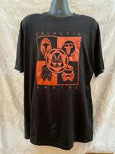 GALACTIC EMPIRE Darth Vader Men's T-Shirt~Size XXL~100% Cotton S/S Black w/Red