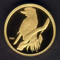 Australia. 2009 (1995) 1/20th oz Gold Kookaburra ($5).  Perth Mint Issue - Proof