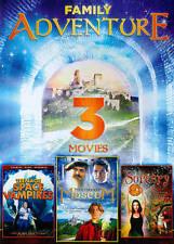 3-Movie Family Adventure: Mysterious Museum / Teen Sorcery / Teenage Space Vampi