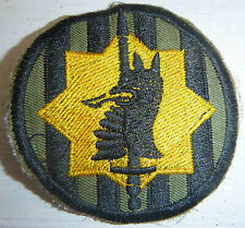 MP - Patch - US 89th Military Police Brigade - Semi Subdued - Vietnam War - 1088