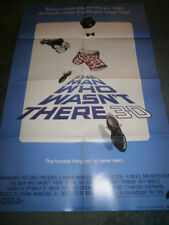 THE MAN WHO WASN'T THERE(1983)STEVE GUTTENBURG ORIG 1SHEET POSTER+