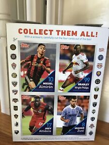 Post Grape-Nuts Cereal Box with MLS Soccer Cards on Back