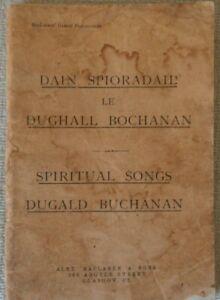 1946 Gaelic Spiritual Songs / Dain Spioradail by Dugald Buchanan (Maclaren pub)