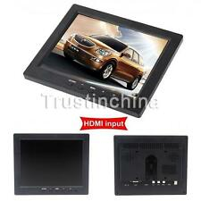 "UK 8"" inch TFT LCD Color Video Audio VGA BNC HD Monitor Screen For DVR PC CCTV"