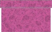 Tischläufer Liv in Beere aus Linclass® Airlaid 40 cm x 24 m - Floral