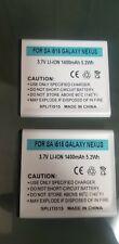 2 X NEW EB-L1D7IBA Samsung Galaxy S II T989 i727 L700 i515 I547 Battery1400MAH
