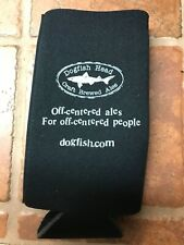 Dogfish Head Large Bottle Koolie Insulator Black Limited Release! Brand New!