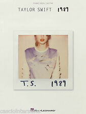 Taylor Swift - 1989 - Piano, Vocal, Guitar Songbook, 141994