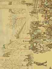 A4 Photo Geruzes Victor Crafty 1840 1906 A Travers Paris 1894 Un Mariage La Made