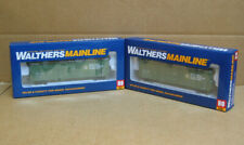 Walthers 910-2028 & 910-2027 Ho Pair Bcr 50' Insulated Boxcar #4654 & #4747
