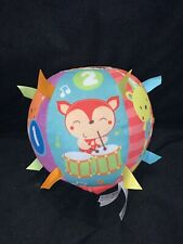 "VTech Baby Lil' Critters Roll & Discover Ball 7.1"" Plush Musical/Taggies Z6"
