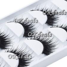 5 Pairs Natural Thick False Eyelashes Long Handmade Eye Lashes Extension