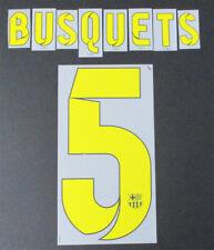 14/15-Barcelona; Plástico Home Style/Busquets 5 = tamaño del jugador