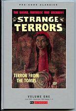 Pre Code Classics Strange Terrors Vol 1 HC