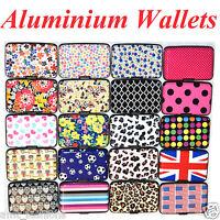 Aluminium Metal Pocket Business ID Credit Card Wallet Holder Waterproof Case Box