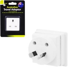 UK to Australia Power Adaptor Plug Converter Travel Adapter Pin Mains Convert
