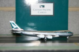 "Herpa Wings 1:500 Cathay Pacific Boeing 747-200F B-HIH ""CXcitement"" Model Plane"