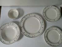 Mixed Lot 5 Mikasa Intaglio Annette CAC20 Dinner Salad Plates Cereal Soup Bowl