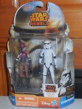 Star Wars Rebels Mission Series SABINE WREN STORMTROOPER Figure Set (BROWN MASK)