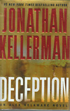 Deception by Jonathan Kellerman *SIGNED*  1st Edition Brodart Cover NEW