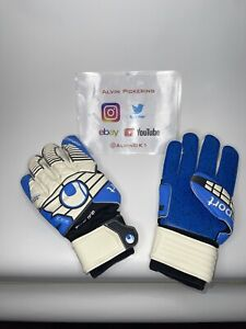 Uhlsport Super Grip 360 Cut Goalkeeper Gloves Size 11 Brand New