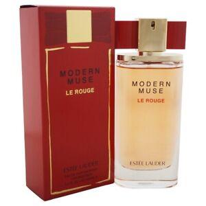 Estee Lauder Modern Muse Le Rouge For Women Perfume 3.4 oz ~ 100 ml EDP Spray