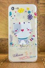 Animal Cat  Silicone Case/cover for iPhone 7