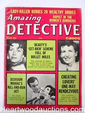 """""""Amazing Detective"""" December 1963"""