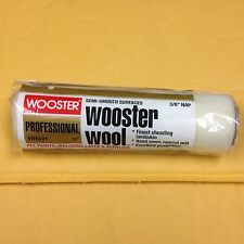 """Wooster Rr631 9"""" x 3/8""""nap Wooster Wool Semi-Smooth Surfaces"""