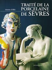 Sèvres porcelain , French book by A. d'Albis