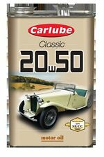 Carlube SAE 20W50 Classic Mineral Multi Grdae Motor Engine Oil 4.55L XAE250