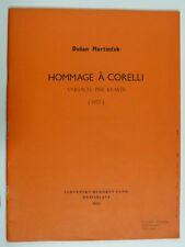 piano solo DUSAN MARTINCEK hommage a corelli [ 1970 ]