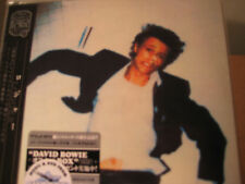 DAVID BOWIE LODGER RARE JAPAN Replica LP 2007 OBI CD SILVER STICKER ISSUE
