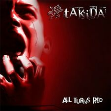 CD TAKIDA, All Turns Red, 2014, NEU, Schweden