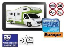 GPS POIDS LOURD CAMION ET CAMPING CAR ET BUS 7 POUCES EUROPE GRATUITE A VIE