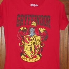 HARRY POTTER GRYFFINDOR House Banner Seal T-Shirt Womens Juniors sz XXL