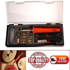Wood Burning Tool Kit Soldering Pen Set Tips Craft Woodburner Professional Art