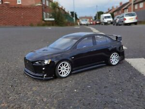 HPI SPRINT 2 1/10 SCALE RC ELECTRIC TOURING CAR,HEAVILY UPGRADED,ALLOY,4WD,TT-02