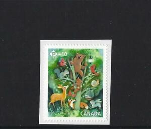 CANADA 2020 FOREST ANIMALS COMMUNITY CHARITY STAMP UNMOUNTED MINT, MNH
