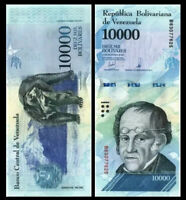 VENEZUELA 10000 (10,000) Bolivares, 2017, P-98, UNC World Currency