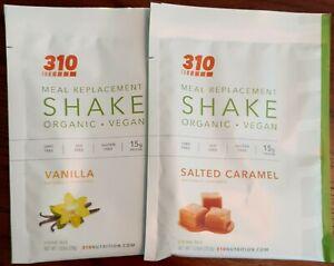 310 NUTRITION - VANILLA & SALTED CARAMEL SHAKES (EXP 2023)