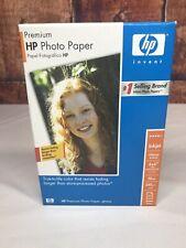 New 100-Pack Genuine HP Q1990A Premium Photo Paper  Glossy  4 x 6 w/tab  Sealed