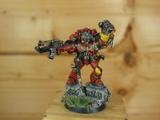 FINECAST GAMESDAY 2012 SPACE MARINE CAPTAIN WELL PAINTED (243)