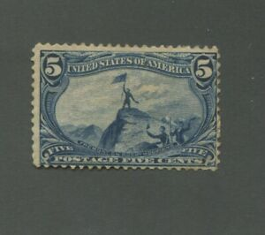 United States Postage Stamp #288 Mint Hinged Disturbed OG