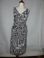 MAX MARA PURE SILK WRAP OVER  DRESS  - SIZE UK 10  MADE   IN ITALY  RRP £380