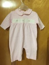 Infant Girls Pink & White Carters 1 Piece Outfit Size 3 Months Nwot Cute